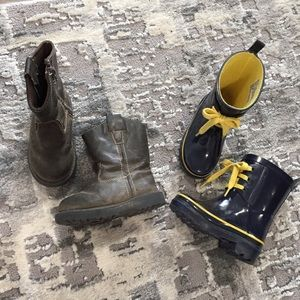 2 Pairs of Toddler Boots || Size 5/6, 7